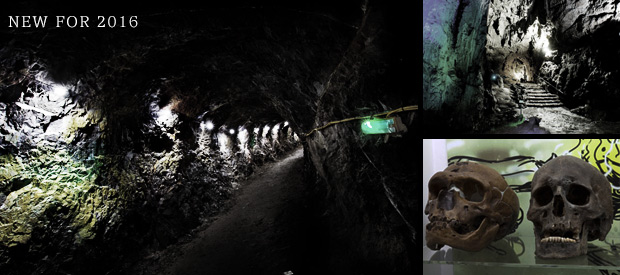 Wookey Hole and Paper Mill Ghost Hunt – £65