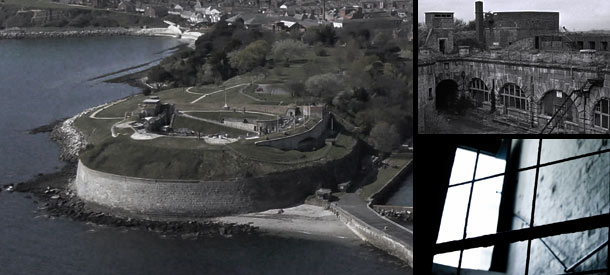 Ghost hunting at Nothe Fort – £45