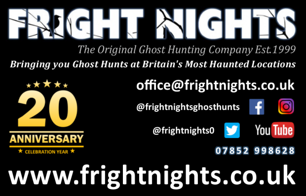 Fright Nights the Original Ghost Hunting Company Ghost Hunting Experts