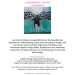 Workshop with Angela Mitchell  –  Connect with Your Angels  –  23rd Nov 2019  £70